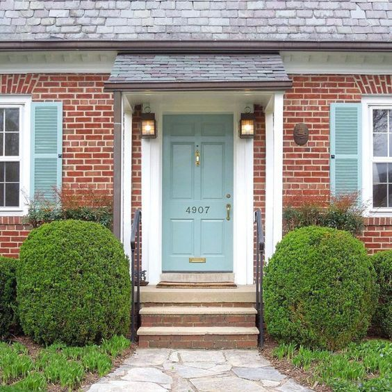 Front Doors Best Front Door Colors For Red Brick House Uk