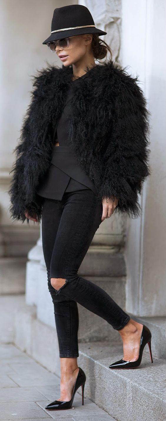 Black: