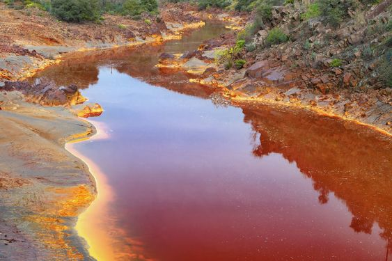 رودخانه rio tinto