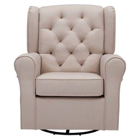 Delta Children Emma Upholstered Glider Chairs Nurseries