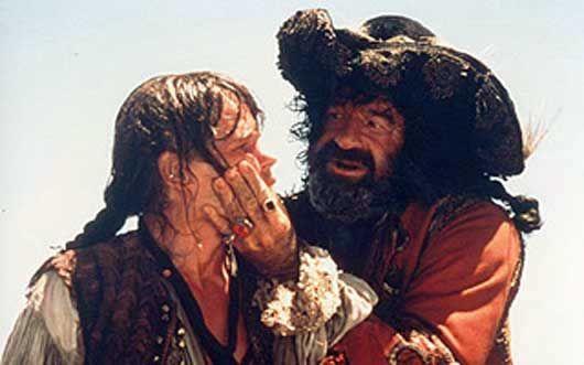 Cris Campion et Walter Matthau dans le film Pirates de Roman Polanski