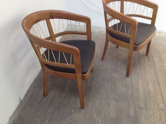 """Pair of Danish modern """"string chairs"""" by Edward... in Ridgewood, Queens ~ Krrb Classifieds"""