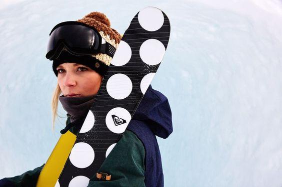 Olympic Champ, Dara Howell #ROXYsnow: