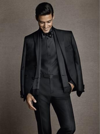 2014formalwear-13 | Corneliani . micro-effect glossy wool / silk