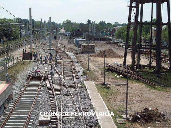 CRÓNICA FERROVIARIA: ¿Alguna vez renovarán la infraestructura de la vía...