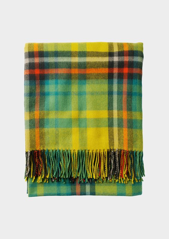 FINE PLAID BLANKET | TOAST: