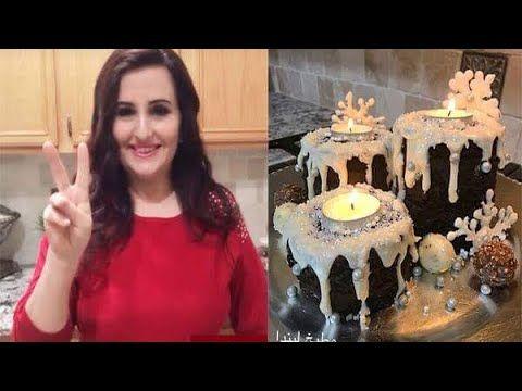 تزيين الكيك بعجينة السكر طريقة بصيطة ومناسبة للمبتدئين مطبخ العائلة العراقية ام فراس Youtube Crown Crown Jewelry