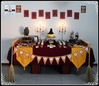 Sweet Table Harry Potter: