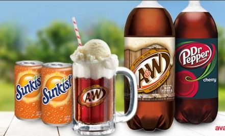 FREE A&W, Sunkist and Dr Pepper at Target, T-Shirts, Ice Cream Scoops, Mugs and more!