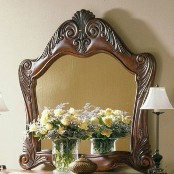 Pheasant run mirror by ashley furniture b452 36 - Ashley furniture pheasant run bedroom set ...