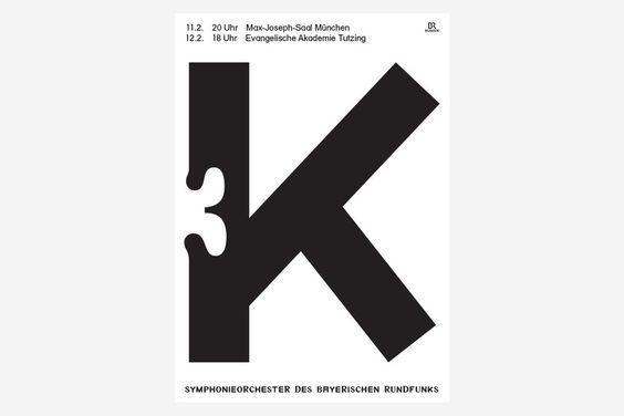 L'excellent Bureau Mirko Borsche dévoile la nouvelle campagne d'affiches réalisées pour L'Orchestre symphonique de la Radiodiffusion bavaroise. Le...