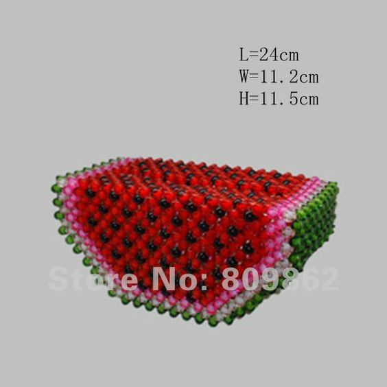 Wholesale/Unique Creative Handmade Acrylic beads Tissue Box/tissue extraction/tissue holder/table decoration & accessories A-011 $7.57