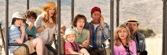 BLENDED (2014) Movie Review - Sandler, king of the Filmed Vacation, is back in Blended for another vacation short on belly laughs and long on gooey sentimentality and familiar slapstick.