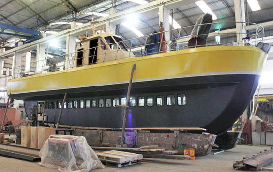 Está en final de obras una nave para el avistaje de ballenas.
