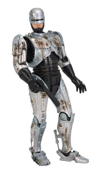 Figura Robocop. Robocop, 18cms. Herido. NECA