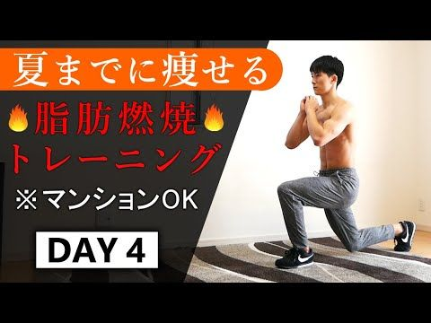 夏までに痩せる 14分の脂肪燃焼トレーニング 1週間ルーティン4日目 Youtube 脂肪燃焼トレーニング トレーニング ダイエット ダンス