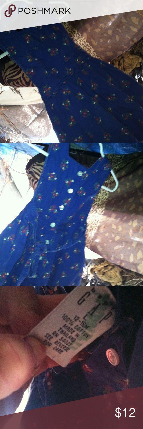 Floral dress 100% cotton baby gap Dresses