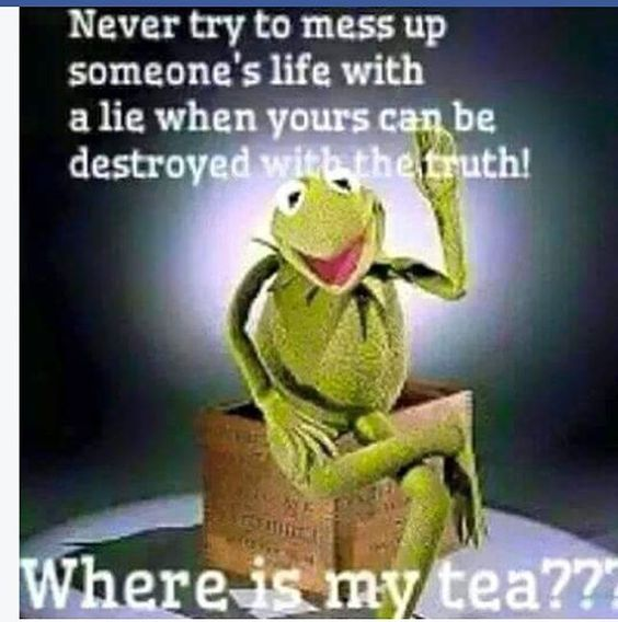 Lying is never good! Please don't lie on people...Especially to try & make yourself look better! The truth always comes out! So you may as well be honest & be set free! Plus lying is sooooo exhausting ☕️