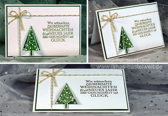 stampin up weihnachten | Janas Bastelwelt - Unabhängige Stampin' Up! Demonstratorin ...