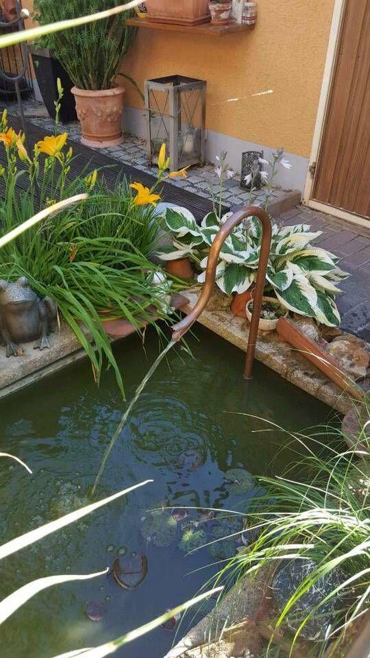 Wasserspiel Fur Zinkwanne Brunnen Teich Brunneneinlauf Kupfer In Bayern Hirschaid Zinkwanne Teich Wasserspiele Zinkwanne
