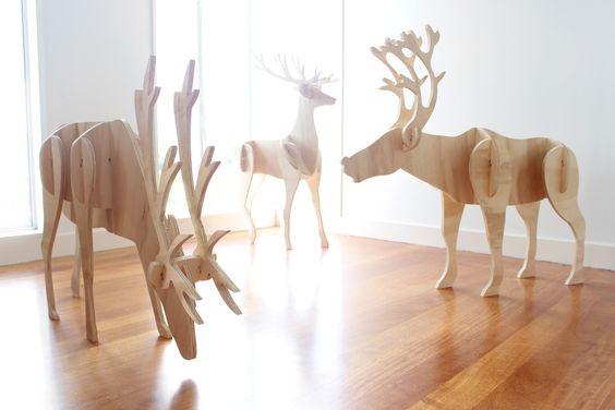 Plywood Deer Pattern Www Picsbud Com