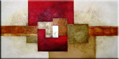 Abstratos em telas