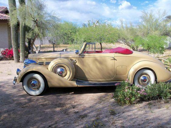 1937 Packard Super 8  / Hemmings Motor News
