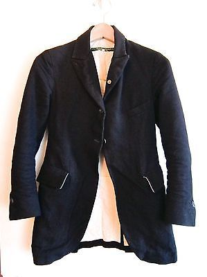 Paul Harnden Shoemakers Women's Black Jacket 50% Wool 50% Linen