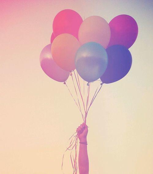 Balloons. | via Tumblr | Ballon - Alegria flutuante ...