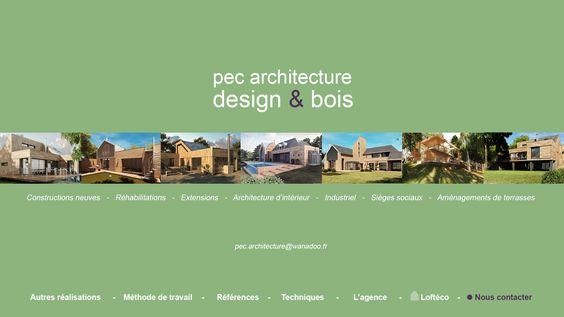 Maisons Bois  P.E COPPIN architect Ile de France et Normandie.