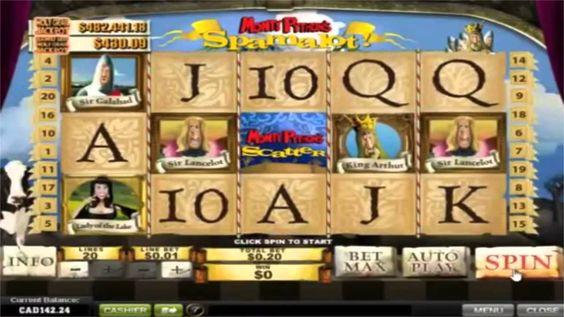 Spamalot Spielautomaten Video