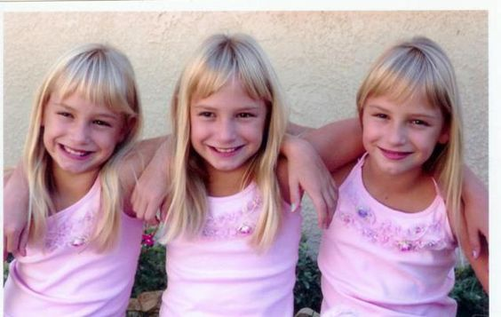 Triplet Photo Gallery: Lexi, McKenzie and Megan Calabrese