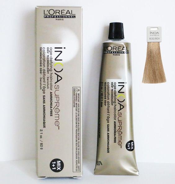 loreal inoa supreme age defying hair color 21 oz 832 8gv - Coloration Inoa Supreme