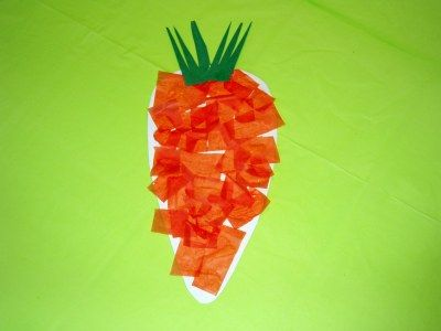 arts and crafts projects for kids of fruit vegetable