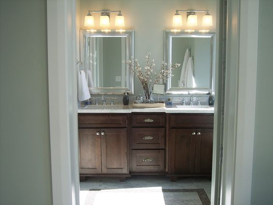 Master Bathroom 2013 St. George Parade of Homes Ivory Home