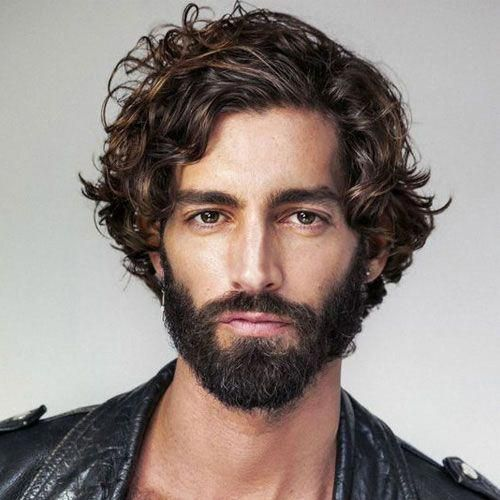 Wavy Hairstyles For Men With Images Wavy Hair Men Mens