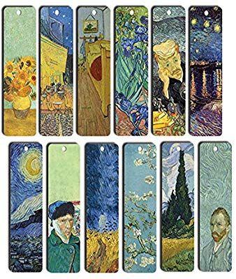 Amazon Com Van Gogh Bookmarks 12 Pack Starry Night