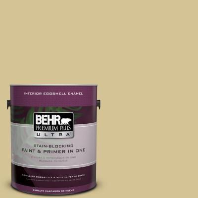 BEHR Premium Plus Ultra 1-gal. #M310-4 Almondine Eggshell Enamel Interior Paint