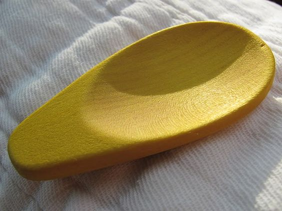 Wooden Spoon into Teething Toy
