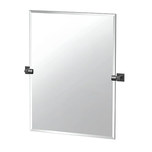 Gatco 4059mxs Elevate 31 5 In Frameless Rectangle Mirror In Matte