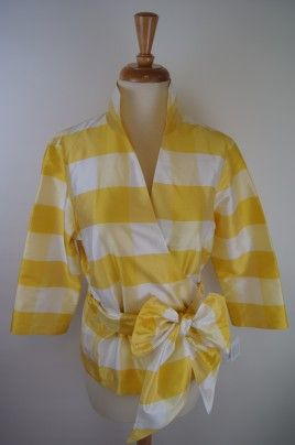 Connie Roberson Sophie Blouse - Yellow