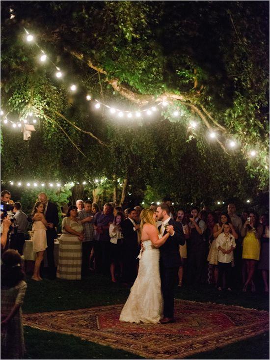 Dance floors wedding and oriental on pinterest for Outdoor dance floor ideas