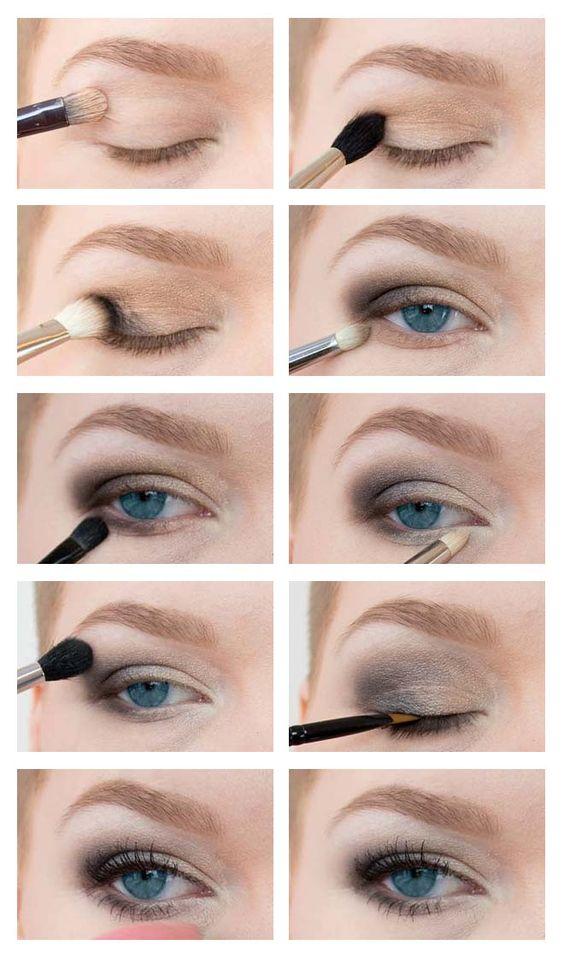 smokey eyes step by step tutorial  #smokeyeyes #tutorial #howto