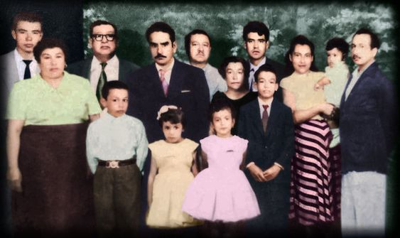 Familia colores<br>