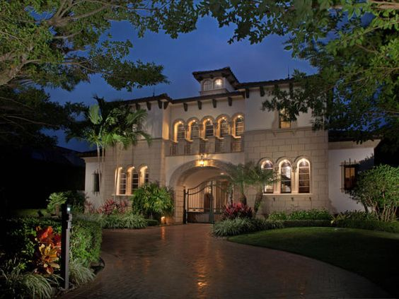 Pinterest the world s catalog of ideas for Mega mansions in florida
