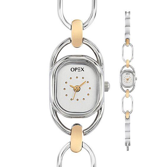 Een schakelketting horloge of fijn damesklokje past echt bij de sierlijke vrouw