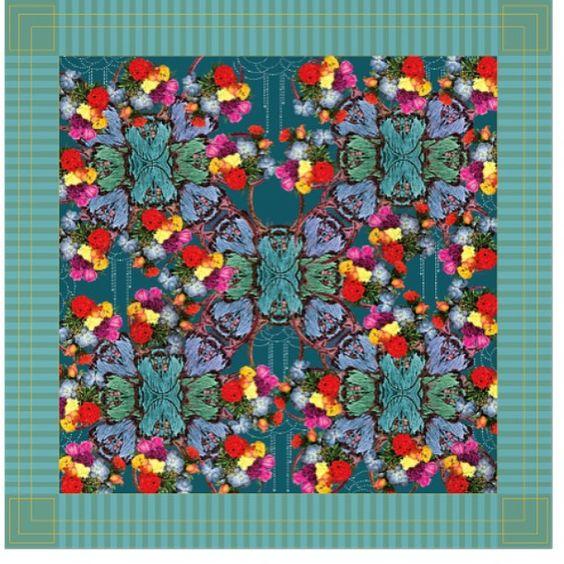 :: nova estampa para a série FANTASIA :: pode ser feita nos 3 tamanhos : 100x100cm : 95x30cm : 50x50cm :: para encomendas mande um WhatsApp para 86 99402-78887 ou um email : lencos_odelirio@hotmail.com ::  :: #estampa #estamparia #surfacedesign #moda #estilo #acessório #lenços #charme: