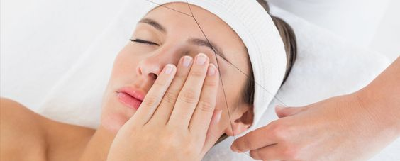 Beautiful make your and threading on pinterest treat yourself to all natural eyebrow facial threading with divine threading make your eyebrows solutioingenieria Image collections