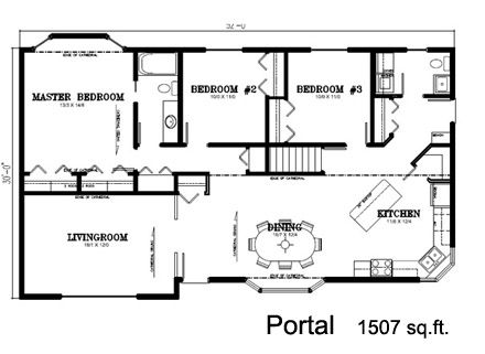 square foot house plans   Deneschuk Homes Ltd    Ready to      square foot house plans   Deneschuk Homes Ltd    Ready to Move RTM Antler Home Plan and Photos   Dreaming   Pinterest   Home Plans  Antlers and Home