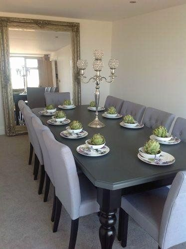 Dining Room Table Seats 10 Beautiful Top 20 10 Seat Dining Tables And Chairs 10 Seater Dining Table Large Dining Table Dining Table Chairs